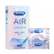 杜蕾斯Air避孕套至薄幻影空氣套 6只裝