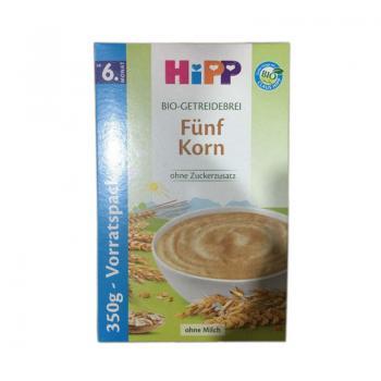 德国喜宝Hipp有机五种谷物营养米粉 350g 6个月以上