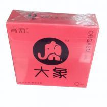 天然膠乳橡膠避孕套(大象高潮女生)2只