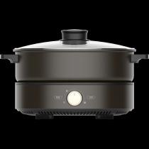 美的MC-DH2601電火鍋家用多功能分體式電煮鍋火鍋鍋不粘鍋2-4-6人