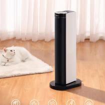 美的(Midea)取暖器/电暖器/电暖气家用 遥控塔式立式摇头速热暖风机
