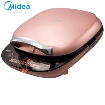 美的(Midea)電餅鐺家用早餐機上下盤可拆卸烙餅機全觸控面板煎烤機MC-JSY30A